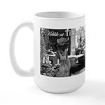 Kibble at Tiffany's Large Mug