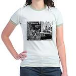 Kibble at Tiffany's Jr. Ringer T-Shirt