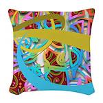 Fantasy Graphic Woven Throw Pillow