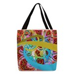 Fantasy Graphic Polyester Tote Bag