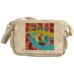 Fantasy Graphic Messenger Bag