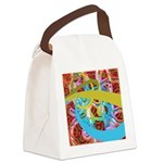 Fantasy Graphic Canvas Lunch Bag