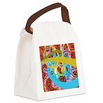 Fantasy Graphic Canvas Lunch Bag