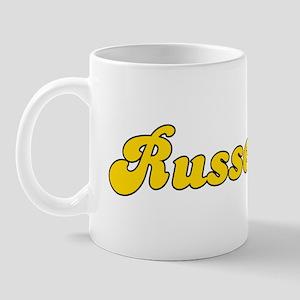 Retro Russellville (Gold) Mug