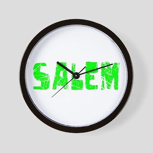 Salem Faded (Green) Wall Clock
