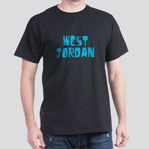 West Jordan Faded (Blue) Dark T-Shirt