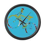 Fantasy Graphic Large Wall Clock