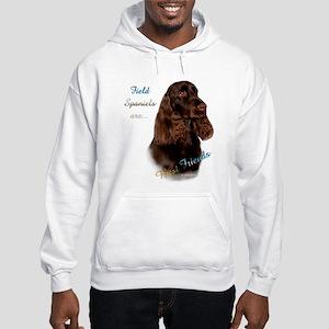 Field Spaniel Best Friend1 Hooded Sweatshirt