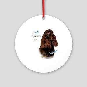 Field Spaniel Best Friend1 Ornament (Round)