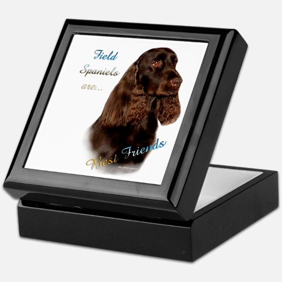 Field Spaniel Best Friend1 Keepsake Box