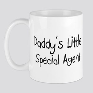 Daddy's Little Special Agent Mug