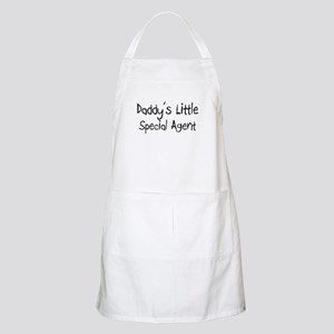 Daddy's Little Special Agent BBQ Apron