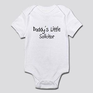 Daddy's Little Solicitor Infant Bodysuit