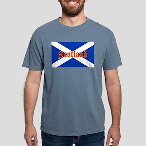 Scottish Flag Saltire - High Quality Image T-Shirt