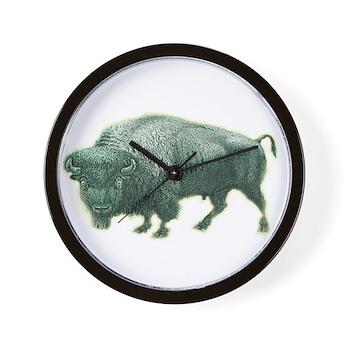 Buffalo Water Classic Logo Wall Clock