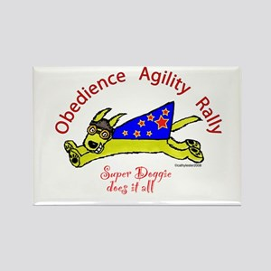 Obedience, Agility, Rally Super Doggie Rectangle M
