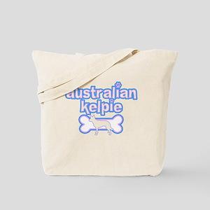 Powderpuff Kelpie Tote Bag