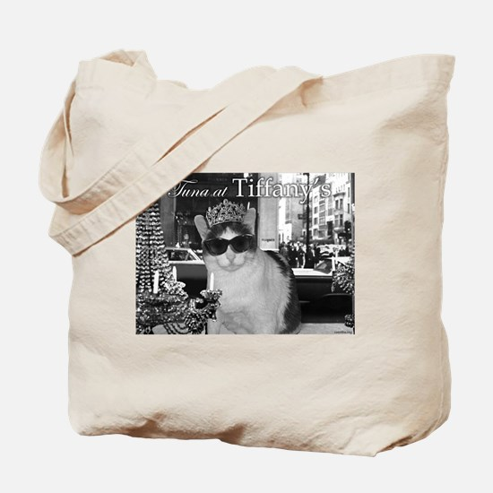 Tuna at Tiffany's Tote Bag