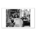 Tuna at Tiffany's Sticker (Rectangle 50 pk)