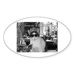 Tuna at Tiffany's Sticker (Oval 50 pk)