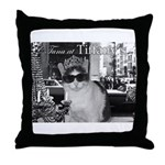 Tuna at Tiffany's Throw Pillow