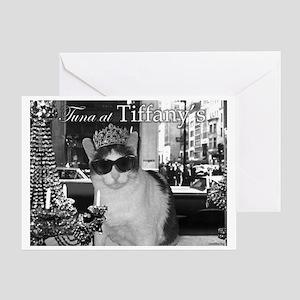 Tuna at Tiffany's Greeting Card