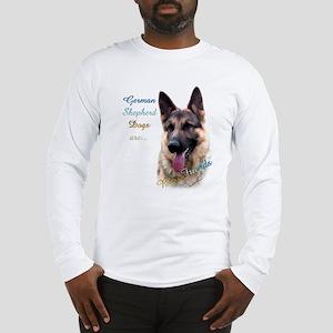 GSD Best Friend1 Long Sleeve T-Shirt