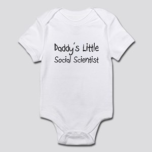 Daddy's Little Social Scientist Infant Bodysuit