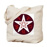 Penta-Witch Tote Bag