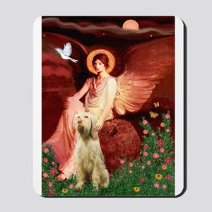 Seated Angel /Italian Spinone Mousepad