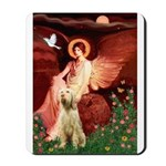 Seated Angel /Italian Spinone Mousepad