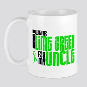 I Wear Lime Green For My Uncle 6 Mug