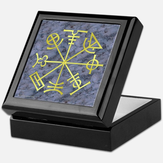 Stone Mason Symbology - Keepsake Box