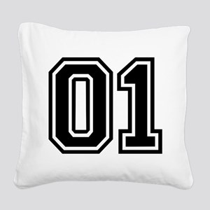 1 Square Canvas Pillow
