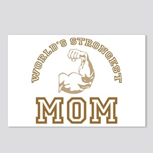 World's Strongest Mom Postcards (Package of 8)