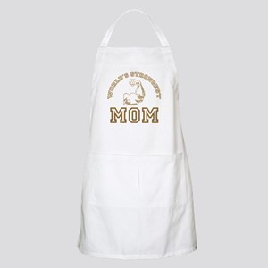 World's Strongest Mom BBQ Apron