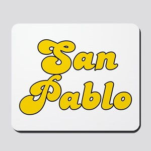 Retro San Pablo (Gold) Mousepad