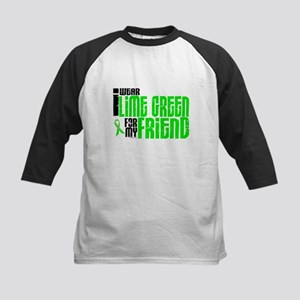 I Wear Lime Green For My Friend 6 Kids Baseball Je