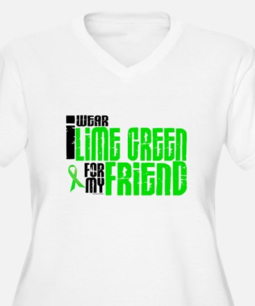 I Wear Lime Green For My Friend 6 T-Shirt