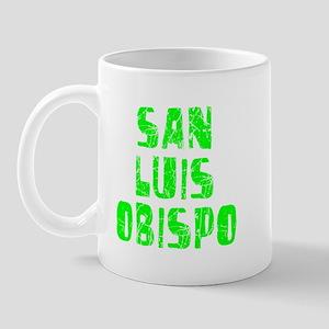 San Luis Obi.. Faded (Green) Mug