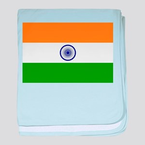 Flag of India Indian High Quality Ima baby blanket
