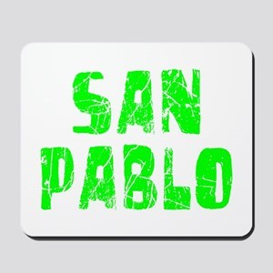 San Pablo Faded (Green) Mousepad