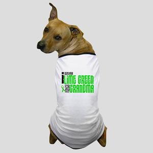 I Wear Lime Green For My Grandma 6 Dog T-Shirt