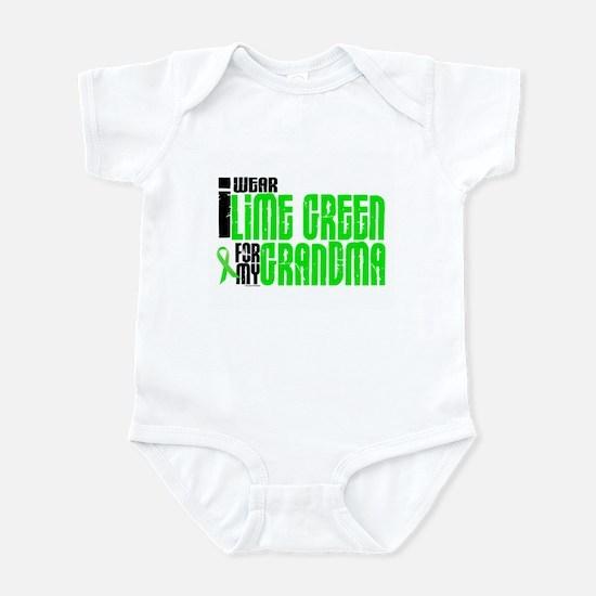 I Wear Lime Green For My Grandma 6 Infant Bodysuit