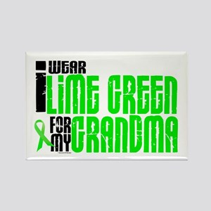 I Wear Lime Green For My Grandma 6 Rectangle Magne