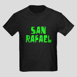 San Rafael Faded (Green) Kids Dark T-Shirt