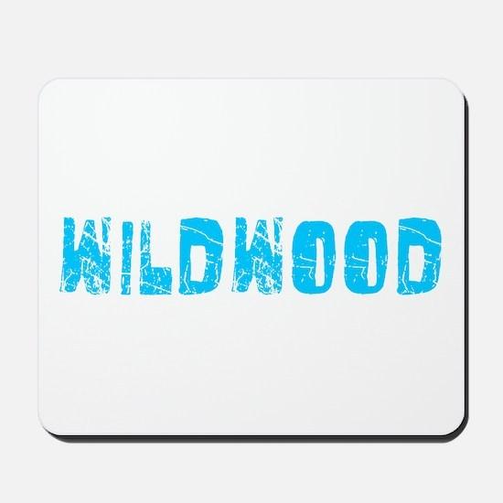 Wildwood Faded (Blue) Mousepad