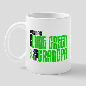 I Wear Lime Green For My Grandpa 6 Mug
