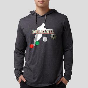Bulgarian Soccer Player Mens Hooded Shirt