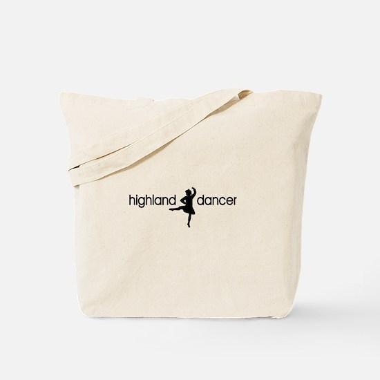 Highland Dancer BOY Tote Bag